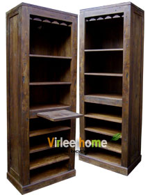 Cabinet with sliding doors - a Solo teak furniture by Sentra Teak